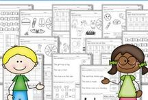 collaborative work packs and printable resources