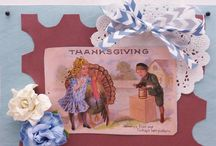 THANKSGIVING / Thanksgiving-A season for gathering friends and family and sending cards of Inspiration.