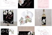 Orchid Theme Wedding Inspiration / Orchids theme wedding ideas from cake, bouquet, to grooms men and bridesmaids related