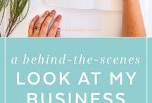 Online Entrepreneur tips - blogging,design,branding and more