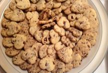 Biscottini di pasta frolla con cioccolato fondente / I Dolci di Maria Rita