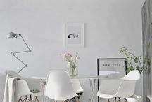 white&black interiors / Home deco