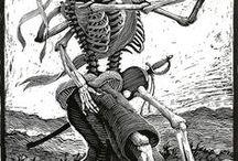 'The Dance of Death' (álbum cerrado/closed) / Eros y Thanatos dos instintos básicos que actúan en el ser humano. Estos son los instintos de vida y muerte.