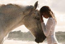 Tier & Mensch / Schwarz-Weiß  Freunde für das Leben