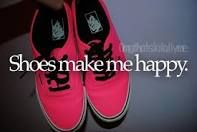 Shoes make me happpy