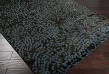 Julie Cohn Rug Design / These are collections of rugs designed for Surya Rugs, Meridien Accents and Tufenkian Tibetan Rugs. Some are influenced by patterns in nature, others are influenced by primitive textiles and textural relics.