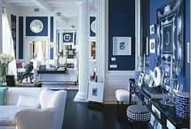 NAVY BLUE / all navy all the time. (it is the color of our logo, after all.)