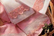 decoración para toallas