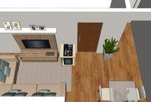 Projetos Arquitetura + Interiores / Projetos feito pelo escritório Arquitetura + Interiores