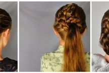 Teacher Hair Styles / Add a fun style to a stressful day!