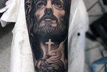 Jesus Cristo tatoo