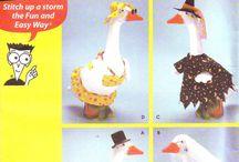 Goose Clothing Patterns