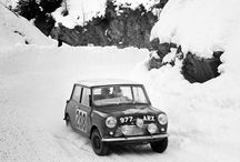 The 1963 Monte Carlo Rally boasted 341 drivers from 23 nations. Rauno Aaltonen and co-driver Tony Ambrose (pictured here) finished third overall. - photo from miniusa