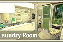 Sims 4 - Laundry