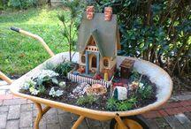 Jardim em miniaturas