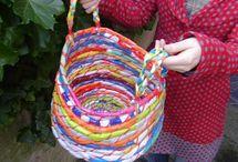 tejidos varios / Elementos varios tejidos en crochet o dos agujas.