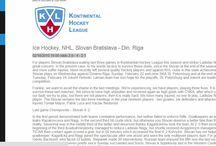 hockey / KHL SLovan Bratislava
