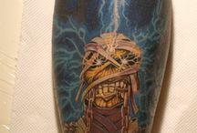 Iron maiden tattoo