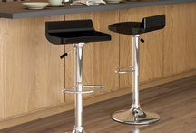 Adjustable Bar Stools / Perfect for any kitchen island and bar.