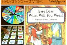 { Jesse Bear What Will You Wear }
