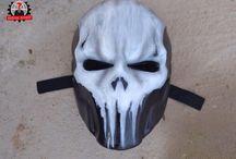 Punisher mask каратель marvel comics