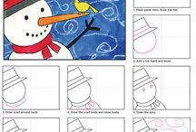 Guided Drawing / Guided drawing activities for the classroom