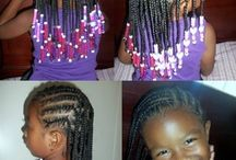 Hairstyles for children with Afro or kinky curly textures