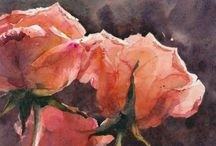 water colours / paintings