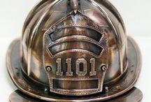 Bronzed Fire Department Memories