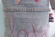 contenitore jeans