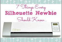 silhouette cameo ideas / by Robyn Strum