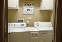 Laundry room at farm / by Susan Soldner