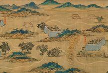 mappa antica via della seta