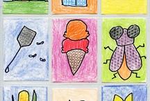 Art trading card ideas / by Danette