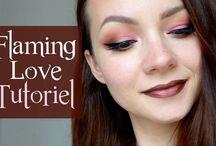 Natural makeup / Natural makeup, earthy tones, soft colors. Idées de maquillage et de look naturels, doux, aux couleurs neutres.