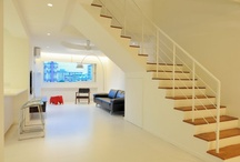 My current home / HDB maisonette. Singapore public housing. Atelier M+A. Minimalist. Featured in Dwell Asia.