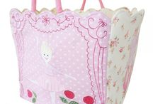 Toy Storage Bags / Practical themed fabric storage bags.