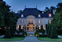 Dream Home / A girl can dream can't she?! Grand estates, palaces, and dream homes to feed your day dreams.