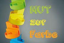 Colour up your office / Für mehr Farbe im Büro!