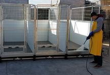 Quick Clean Dog Kennel