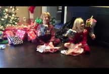 Cute kid videos / My kids both get same silly present - much different reaction - funny!  / by Debbie Bechtel
