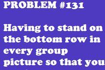 Short people probs