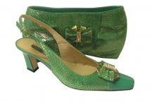 Nigerian Wedding Shoes and Handbags / A range of designer matching shoes and handbags for Nigerian weddings.