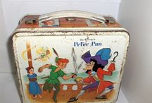 VINTAGE- METAL LUNCHBOXES / metal lunch boxes / by Tracee Stewart