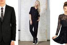 Black Fashions / Monochrome clothing for men and women