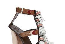 tasseled sandals
