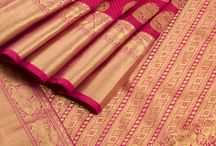 Signature Kanchi Silk Sarees / Signature Kanchipuram Silk Sarees by Ghanshyam Sarode designed exclusively for Avishya.com
