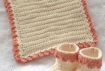 Crochet Bib and Booties