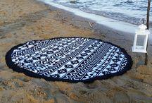 Aztec / Round Beach Towel Aztec