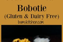 south African dairy free recipes